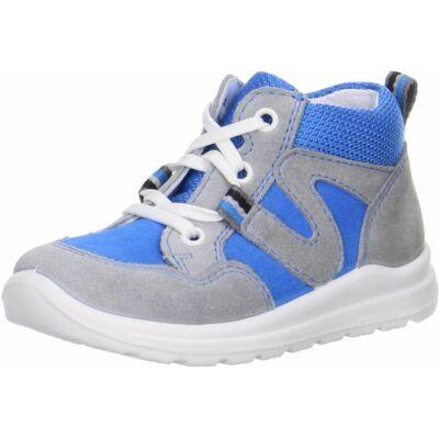 Superfit világoskék-szürke fűzős cipő