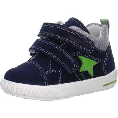 Superfit sötétkék-zöld tépőzáras átmeneti cipő