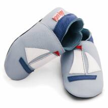 Liliputi puhatalpú cipő vitorlás