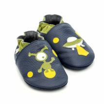 Liliputi puhatalpú cipő ufós