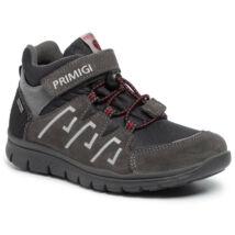 Primigi szürke-fekete-piros, gumis+tépőzáras VÍZÁLLÓ cipő