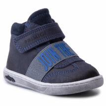 Primigi sötétkék, gumipántos+tépőzáras átmeneti cipő