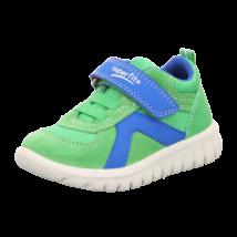 Superfit kivi-kék, gumifűzős+tépőzáras sportcipő