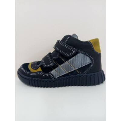 Primigi sötétkék-mustár színű átmeneti cipő