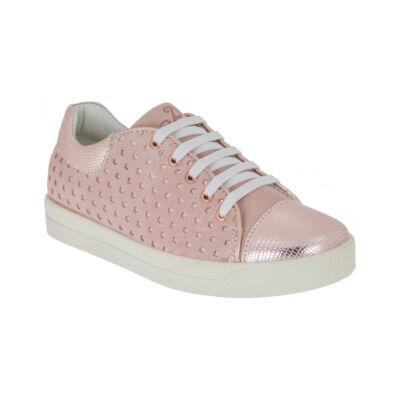 Primigi arany-rózsaszín csillagos átmeneti cipő