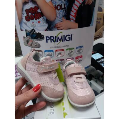 AKCIÓS! Primigi púder-csillogós, gumifűzős+tépőzáras tavaszi bőrcipő