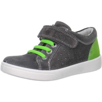 AKCIÓS 30-as! Superfit szürke-zöld, gumipántos átmeneti cipő