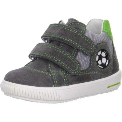 Superfit szürke-zöld, focis átmeneti cipő