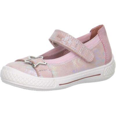 Superfit rózsaszín-ezüst balerina cipő
