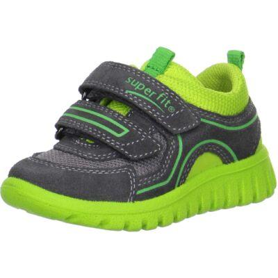 Superfit szürke-neonzöld tépőzáras sportcipő