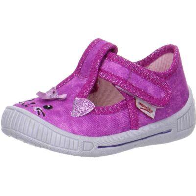 Superfit rózsaszín cicás vászoncipő