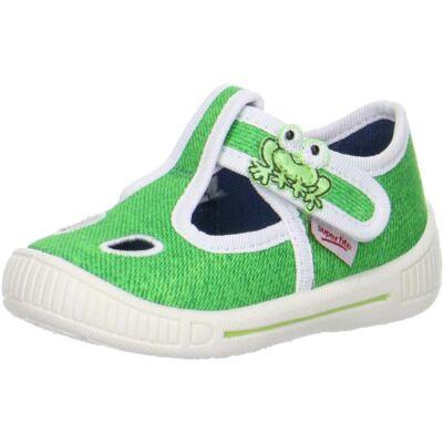 Superfit zöld békás vászoncipő