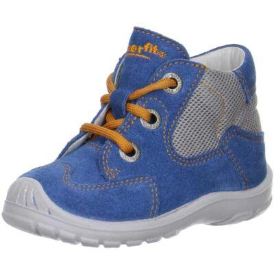 Superfit kék fűzős cipő