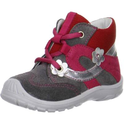 Superfit szürke-bordó fűzős cipő