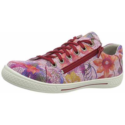 Superfit virágmintás-rózsaszín átmeneti cipő