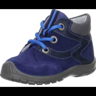 Superfit kék-fekete fűzős cipő
