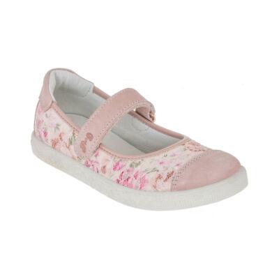 Primigi rózsaszín-virágmintás alkalmi cipő