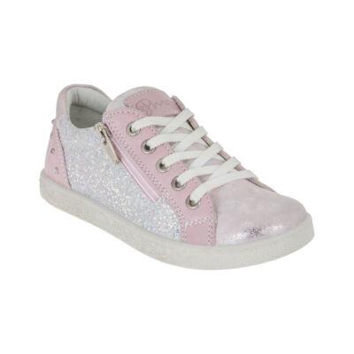 Primigi ezüst-rózsaszín, kövekkel díszített cipő