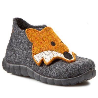 Superfit szürke rókás vászoncipő