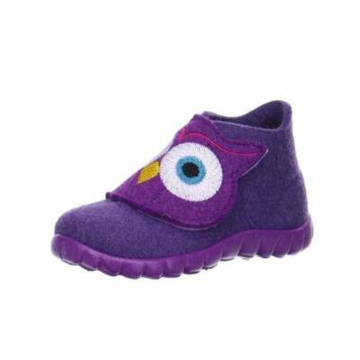 Superfit lila baglyos vászoncipő