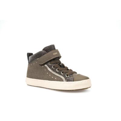 b0e1285bf4 GEOX bézs, strasszokkal díszített, gumifűzős+tépőzáras őszi cipő ...