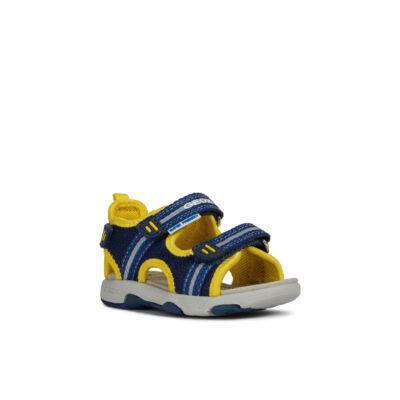 GEOX kék-sárga, tépőzáras, vizi szandál