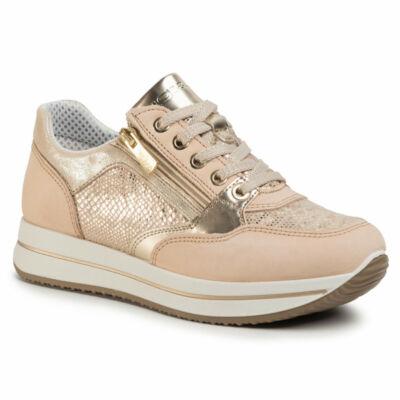 Igi&Co goldrose, fűzős+cipzáros női kényelmi cipő