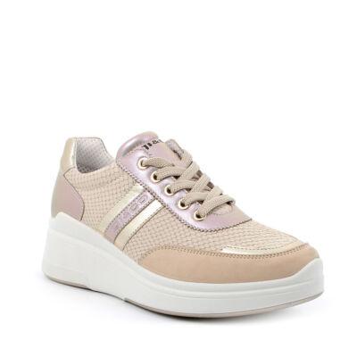 Igi&Co goldrose, fűzős női kényelmi cipő