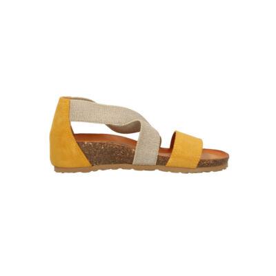 Igi&Co sárga-homok, gumis kényelmi szandál