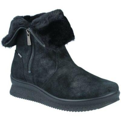 Igi&Co GORE-TEXES, felete, bundás női kényelmi bokacsizma cipzárral