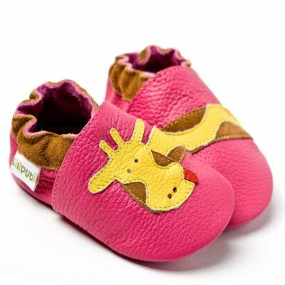 Liliputi puhatalpú cipő zsiráf