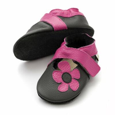 Liliputi puhatalpú cipő kalahári fekete