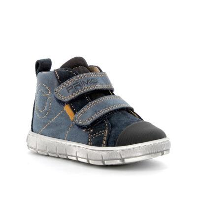 Primigi sötétkék-fekete-mustár, orrvédős átmeneti cipő