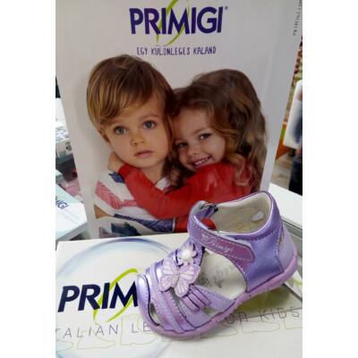 AKCIÓS! Primigi lila pillangós szandálcipő