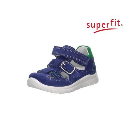 Superfit farmerkék-zöld, csatos-tépőzáras szandálcipő