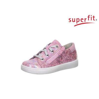 4012c44a85 Superfit rózsaszín-ezüst, fűzős+cipzáras tavaszi bőrcipő - Cipők ...