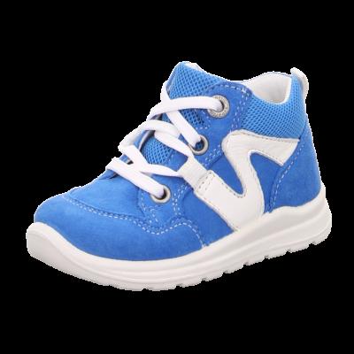 Superfit kék-fehér, fűzős átmeneti cipő