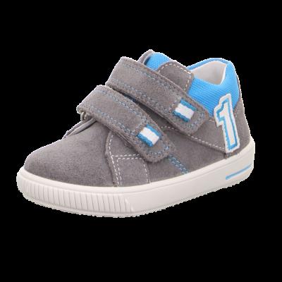 Superfit szürke-kék, tépőzáras tavaszi cipő