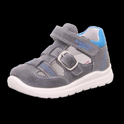 Superfit szürke-kék, csatos-tépőzáras szandálcipő
