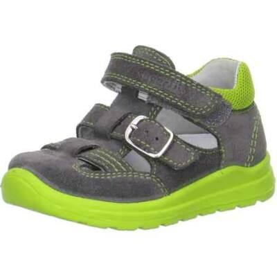 AKCIÓS 25-ös! Superfit szürke-zöld csatos szandálcipő
