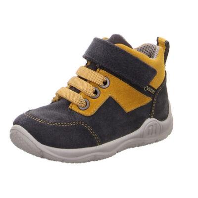 Superfit szürke-mustár, gumifűzős+tépőzáras, VÍZÁLLÓ cipő
