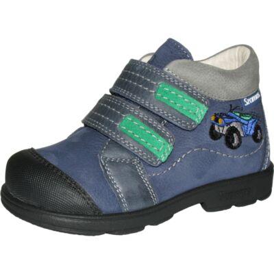 Szamos szupinált kék-zöld autós átmeneti cipő