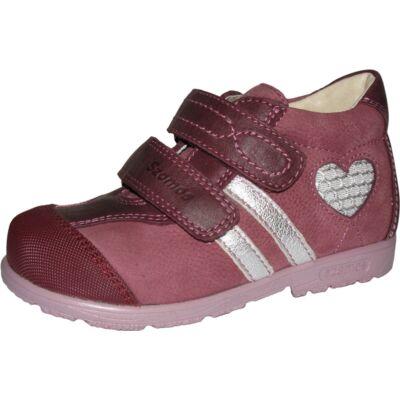 b549417aa1 Szamos szupinált bordó-ezüst átmeneti cipő - Zárt cipők - Trendi ...
