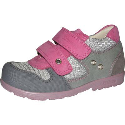 Szamos szupinált szürke-ciklámen átmeneti cipő