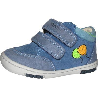 Szamos kék lufis első lépés cipő