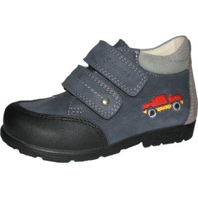Szamos szupinált kék autós átmeneti cipő