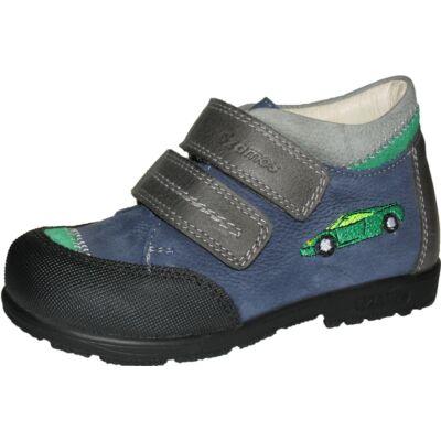 Szamos szupinált kék-szürke autós átmeneti cipő