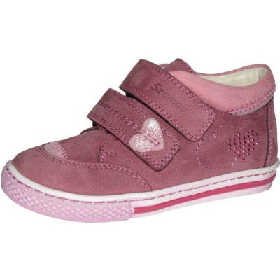 Szamos piros-rózsaszín átmeneti cipő