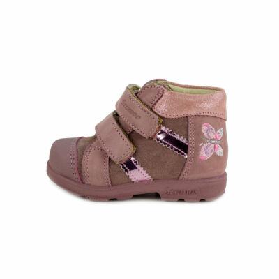 Szamos Kölyök világos mályva, pillangós, szupinált tavaszi cipő