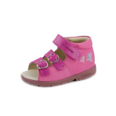 9f11f7040f50 Szamos rózsaszín, világoskék pillangós szupinált szandál - Szandálok ...